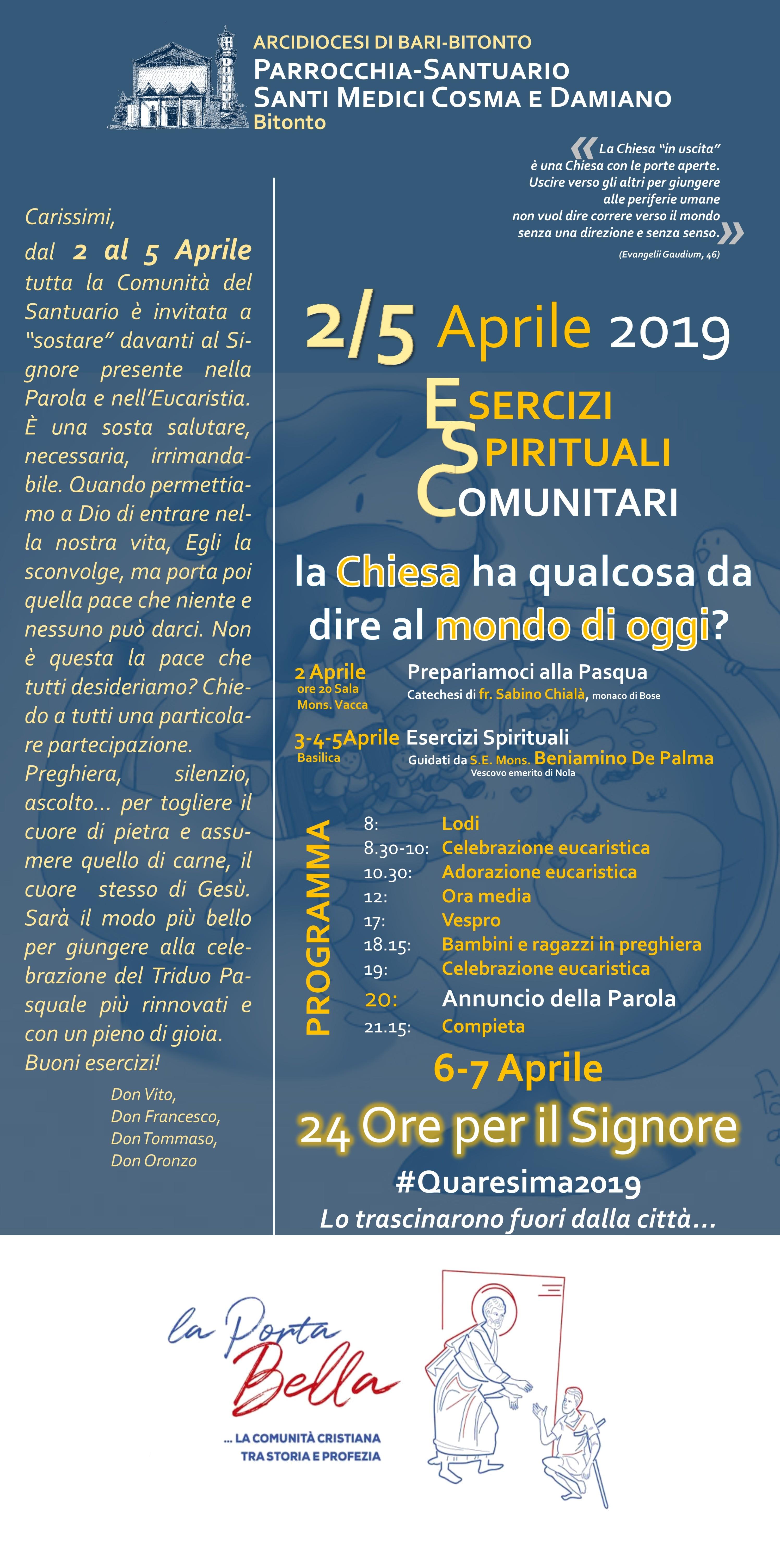 Servizio di incontri spirituali